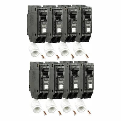 Q Line 15 Amp Single-Pole Arc Fault Combination Circuit Breaker (8-Pack)