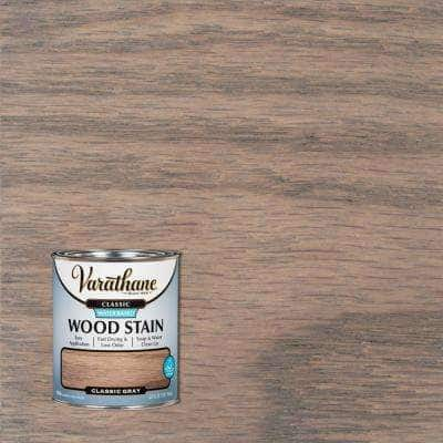 1 qt. Classic Gray Water-Based Interior Wood Stain
