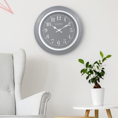 18 In. Louisa Quartz Analog Wall Clock