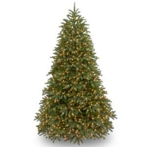 6.5 ft. Jersey Fraser Fir Medium Tree with Clear Lights