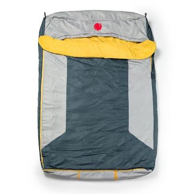 M-3D 30°F Double Wide Hooded Rectangular Sleeping Bag