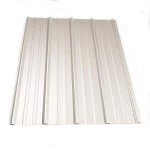 Metal Sales 14 Ft Classic Rib Steel Roof Panel In Galvalume 2313541 The Home Depot