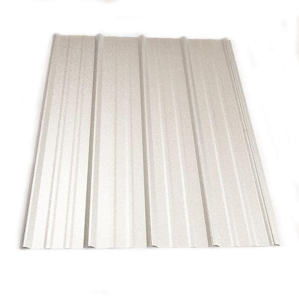 Metal Sales 12 Ft Classic Rib Steel Roof Panel In Galvalume 2313441 The Home Depot