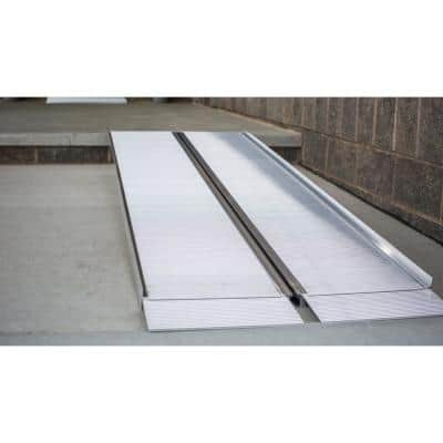 SUITCASE 8 ft. Singlefold Portable Aluminum Ramp