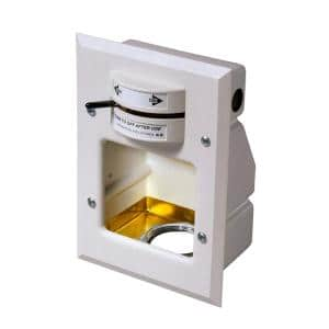 Laundry-Mate 1/2 in. Brass Concealed Washing Machine Valve