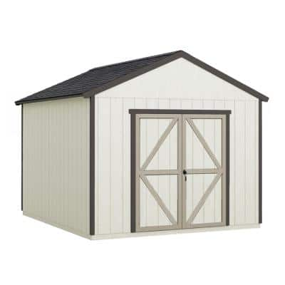 Do-it Yourself Astoria 12 ft. x 12 ft. Wooden Storage Shed with Flooring Included