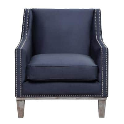 Aster Navy Accent Chair