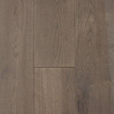 Castlebury Scarborough Grey Eurosawn Oak 3/4 in. T x 4 in. W x Random Length Solid Hardwood Flooring (16 sq. ft./case)