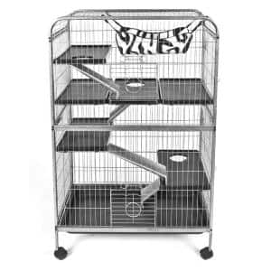 Living Room Series Ferret Cage with Hammock - 32 in. x 20.75 in. x 50 in.