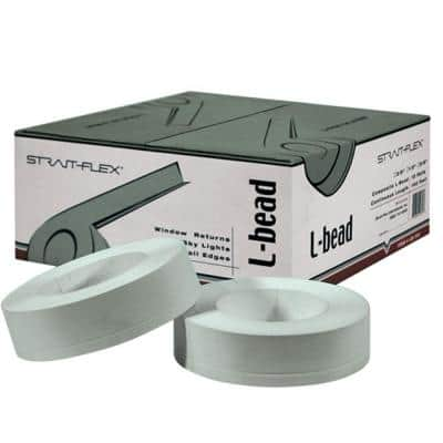 2-1/4 in. x 100 ft. L-Bead Drywall Corner Tape L-Trim