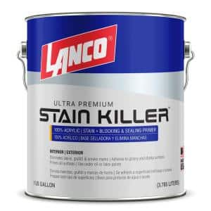 1 Gal. Stain Killer Ultra Premium White Interior/Exterior 100% Acrylic Wall Primer with Heavy Stain Elimination