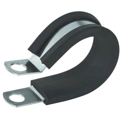 3/8 in. Rubber-Insulated Metal Clamps (2-Pack)