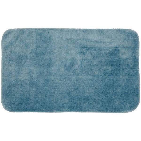 Garland Rug Traditional Basin Blue 30, 30 X 50 Bathroom Rugs