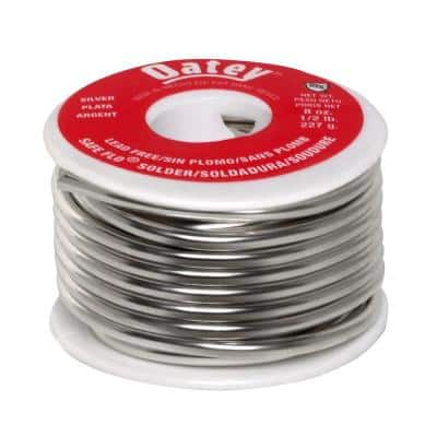Safe Flo 8 oz. Lead-Free Silver Solder Wire
