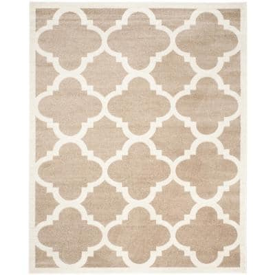 Amherst Wheat/Beige 8 ft. x 10 ft. Area Rug
