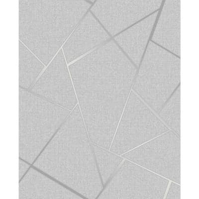 Quartz Silver Fractal Silver Wallpaper Sample