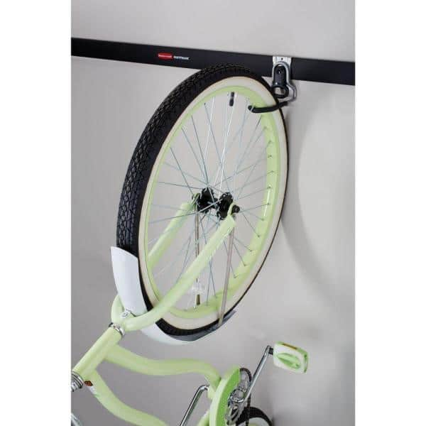 2*Large Road Bicycle Storage Hooks Stand Wall Mount Screw Tubes Expansion H Q5E1