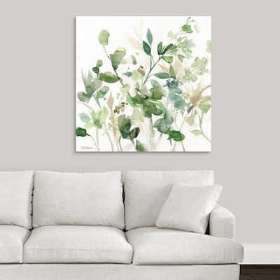 """""""Sage Garden I"""" by Carol Robinson Canvas Wall Art"""