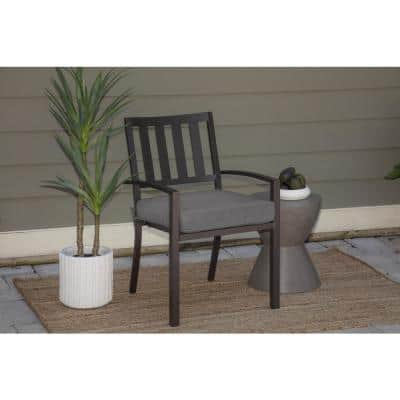 Oak Cliff 20 x 20 Sunbrella Cast Slate Outdoor Chair Cushion (2-Pack)