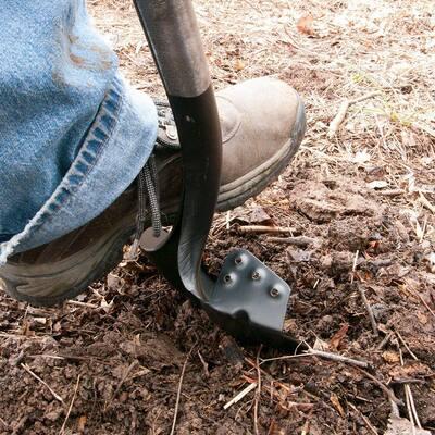 25.75 in. Wood Handle Super Socket Digging Shovel