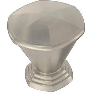 Parson 1-3/16 in. (30 mm) Satin Nickel Cabinet Knob