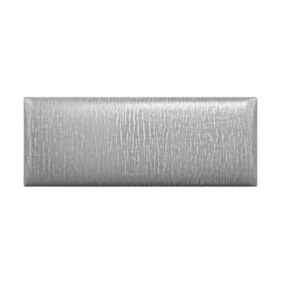 Metallic Silver Twin-King Upholstered Headboards/Accent Wall Panels