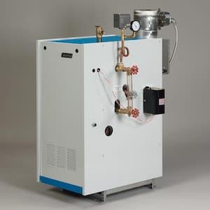 Galaxy Natural Gas Steam Boiler with 120,000 BTU Input 73,000 BTU Output Intermittent Electronic Ignition