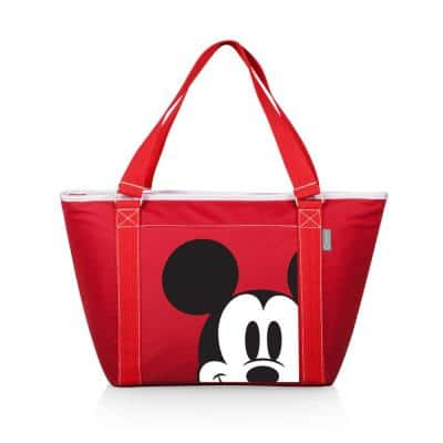 9 Qt. 24-Can Mickey Mouse Topanga Tote Cooler in Red
