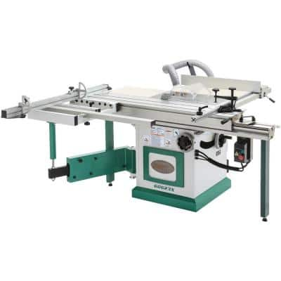 10 in. 5 HP 230-Volt Sliding Table Saw