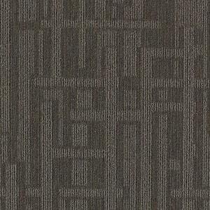 Planner Gray Loop 24 in. x 24 in. Modular Carpet Tile Kit (18 Tiles/Case)
