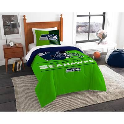 Seahawks 2-Piece Draft Multi Twin Comforter Set