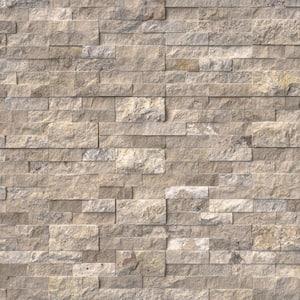 Philadelphia Ledger Panel 6 in. x 24 in. Natural Travertine Wall Tile (10 Cases/60 sq. ft./Pallet)