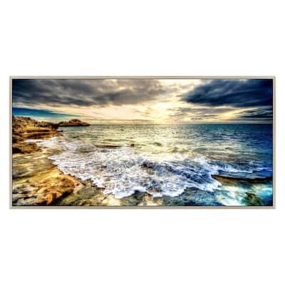 """Tidal Motion"" Polysynthetic Frame Photography Wall Art"