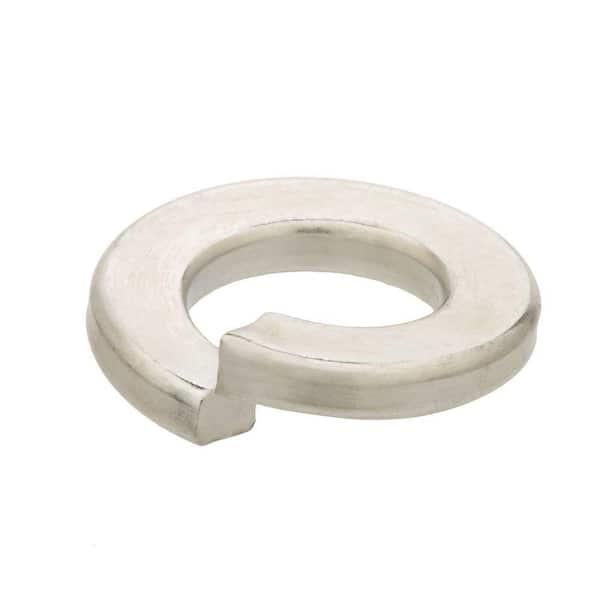 Zinc-Plated  Steel  Split Lock Washer  20 pk Hillman  1//4 in Dia Pack of 10