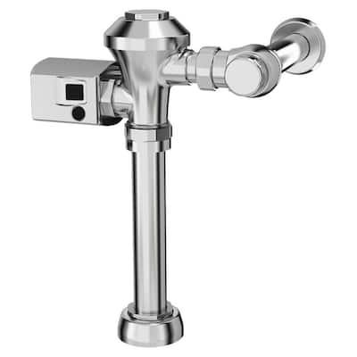 Ultima Sensor-Operated 1.6 GPF Toilet Diaphragm-Type Flush Valve in Polished Chrome