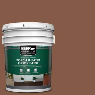 5 gal. #PFC-20 Coronado Low-Lustre Enamel Interior/Exterior Porch and Patio Floor Paint
