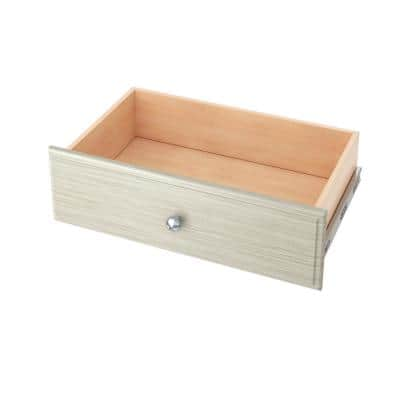 24 in. x 8 in. Rustic Grey Wood Deluxe Drawer