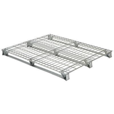 48 in. x 48 in. x 4 in. Galvanized Steel Welded Wire Pallet