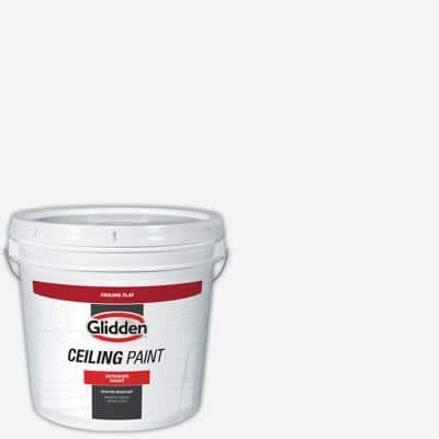 2 gal. Bright White Interior Flat Ceiling Paint