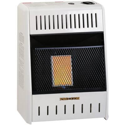 6,000 BTU Plaque Ventless LP Gas Heater