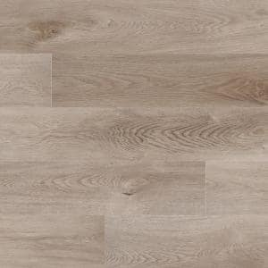 Woodland Mystic Gray 7 in. x 48 in. Rigid Core Luxury Vinyl Plank Flooring (23.8 sq. ft. / case)