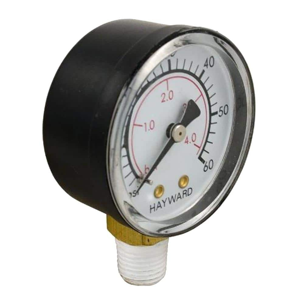 Hayward Pro Series Swimming Pool Boxed De Sand Filter Pressure Gauge Replacement Ecx270861 The Home Depot