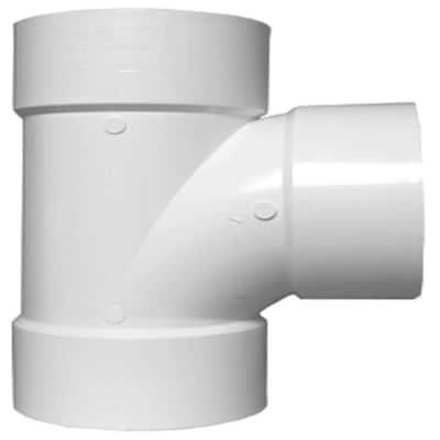 3 in. DWV PVC Sanitary Tee