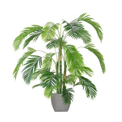 Artificial Faux Plastic 72 in. Tall Palm Tree