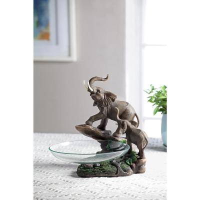 10.5 in. Elephant Candy Dish