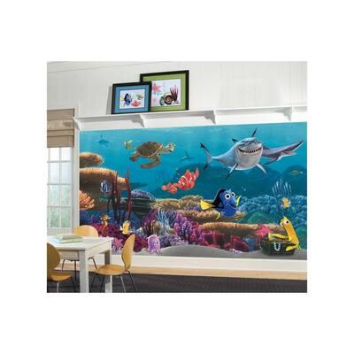 72 in. x 126 in. Finding Nemo Wall Mural