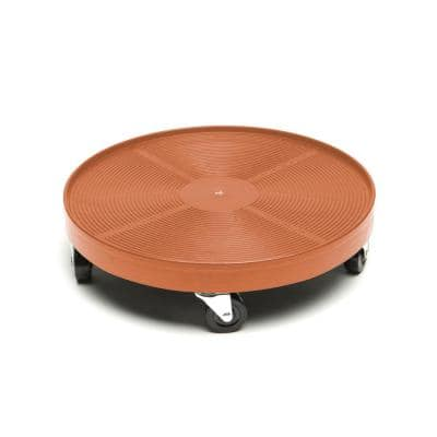 16 in. Terra Cotta Plant Dolly/Caddy without Hole