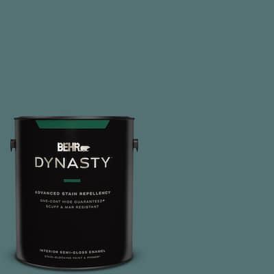 1 gal. #PPU13-02 Juniper Berries One-Coat Hide Semi-Gloss Enamel Interior Stain-Blocking Paint & Primer