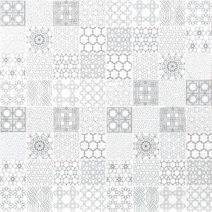 Abani Stak 11.81 in. x 11.81 in. x 8 mm Honed Marble Mosaic Tile (9.7 sq. ft. / case)