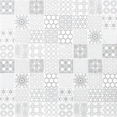 Abani Stak 11.81 in. x 11.81 in. x 8mm Honed Marble Mesh-Mounted Mosaic Tile (9.7 sq. ft./Case)